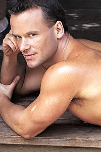 male muscle porn star: Allen Ames, on hotmusclefucker.com