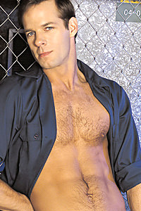 male muscle porn star: Michael Brandon, on hotmusclefucker.com