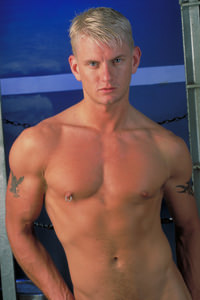 male muscle porn star: Drew Peters, on hotmusclefucker.com
