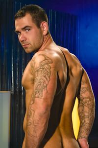 male muscle porn star: Dak Ramsey, on hotmusclefucker.com