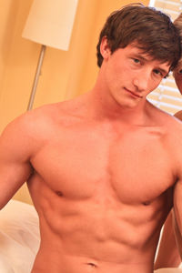 male muscle porn star: Lance Alexander, on hotmusclefucker.com