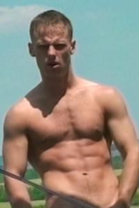 male muscle porn star: Ferenc U., on hotmusclefucker.com