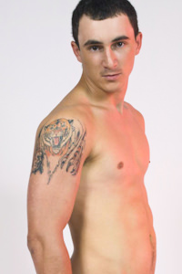 male muscle porn star: Ezequiel Sol, on hotmusclefucker.com