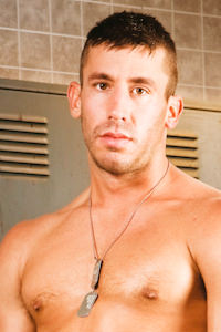 male muscle gay porn star Logan Scott | hotmusclefucker.com