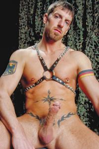 male muscle porn star: Montaz Morgan, on hotmusclefucker.com