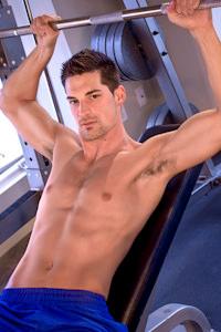 male muscle gay porn star Cal Skye | hotmusclefucker.com