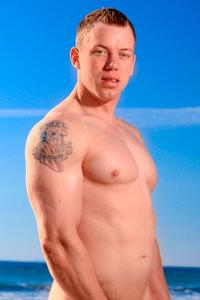 male muscle gay porn star Adam Hardy | hotmusclefucker.com