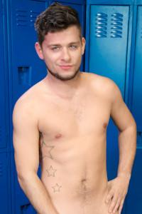 male muscle porn star: AJ Monroe, on hotmusclefucker.com