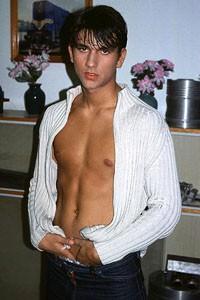 male muscle porn star: Nicolas Dave, on hotmusclefucker.com