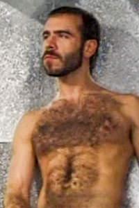 male muscle porn star: Mark Evrett, on hotmusclefucker.com