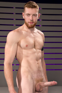 male muscle porn star: Cass Bolton, on hotmusclefucker.com