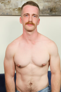 male muscle porn star: Nate Stetson, on hotmusclefucker.com