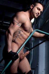 male muscle porn star: Blake Riley, on hotmusclefucker.com