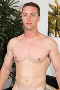 male muscle porn star: Ricky Remmero, on hotmusclefucker.com