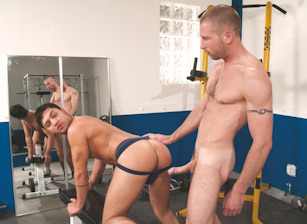 gay muscle porn clip: Afternoon Delights - Dominic Pacifico & Fred Faurtin, on hotmusclefucker.com