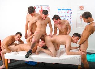 Raw Gangbang Therapy, Scene #02