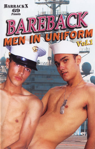 Bareback men in uniform vol 1, muscle porn movies / DVD on hotmusclefucker.com