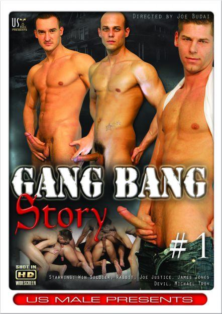 Gangbang Story #01, muscle porn movie / DVD on hotmusclefucker.com