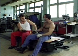 gay muscle porn clip: Heavy Industry, on hotmusclefucker.com