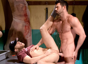 gay muscle porn clip: San Francisco Meat Packers - Part 1 - Billy Santoro & Shawn Wolfe, on hotmusclefucker.com