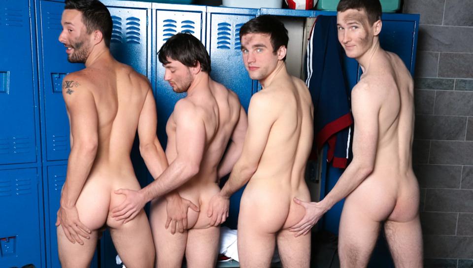Rowdy Sweaty Boys-Andrew Collins, Isaac Hardy, Josh Pierce, Scott Harbor