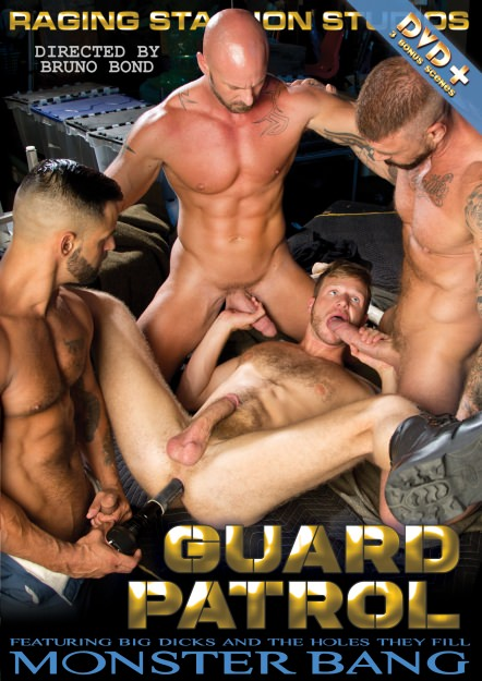 Guard Patrol, muscle porn movies / DVD on hotmusclefucker.com