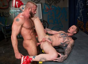 Hunter Marx & Drake Shooter in Gutter Punks | hotmusclefucker.com