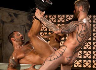 gay muscle porn clip: Permission - David Benjamin & Logan McCree, on hotmusclefucker.com