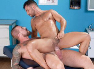 gay muscle porn clip: Deep Examination - Bruno Bernal & Rocco Steele, on hotmusclefucker.com