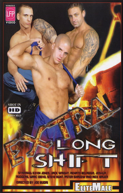 Extra Long Shift, muscle porn movie / DVD on hotmusclefucker.com