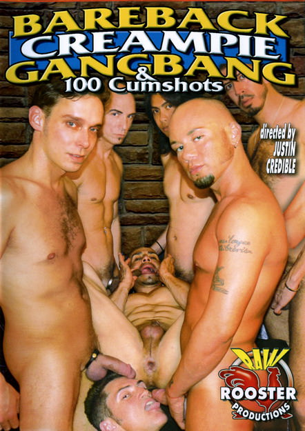 Bareback Creampie Gangbang And 100 Cumshots, muscle porn movies / DVD on hotmusclefucker.com