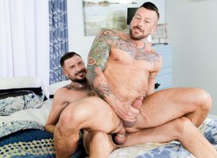 gay muscle porn clip: Couples Fantasy: Part 1 - Dolf Dietrich & Hugh Hunter, on hotmusclefucker.com