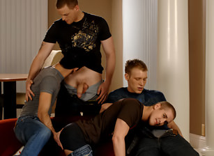 Mason Wyler, Jake Steel, Brandon Bangs & David Stone Image 1