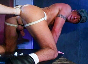 gay muscle porn clip: Butt Out - Aaron Tanner, on hotmusclefucker.com