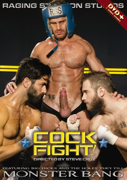 gay muscle porn movie Cock Fight! | hotmusclefucker.com