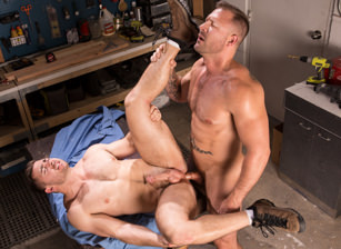 gay muscle porn clip: Dirty Work - Austin Wolf & Derek Bolt, on hotmusclefucker.com