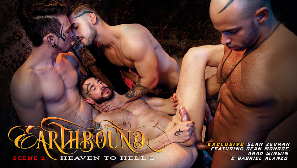 Earthbound – Heaven to Hell 2, Scene # 02 – Dean Monroe, Sean Zevran, Gabriel Alanzo, Arad Winwin (falconstudios)