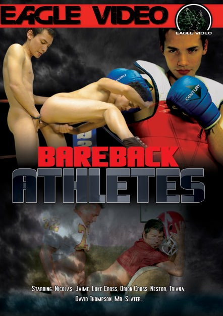 Bareback Athletes, muscle porn movie / DVD on hotmusclefucker.com