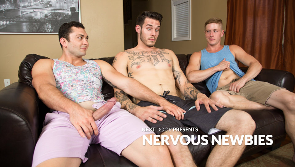 NERVOUS NEWBIES -Johnny Riley, Chris Blades, TJ Lee