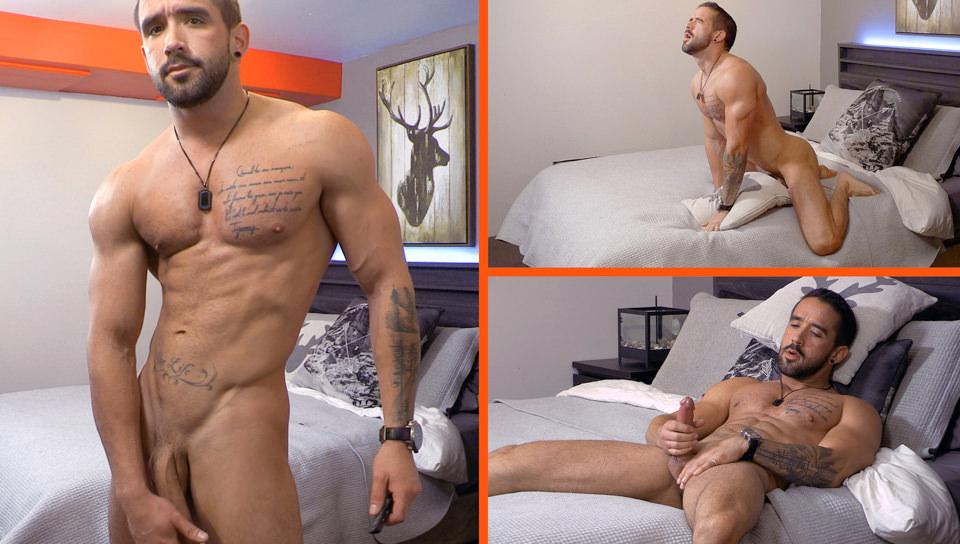 Sex Cam di Zack, Scene # 01 – Zack Lemec (maskurbate)