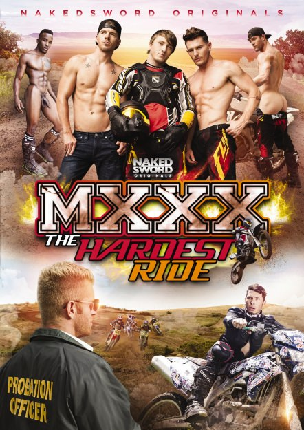 MXXX The Hardest Ride Dvd Cover