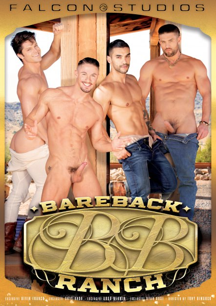 gay muscle porn movie Bareback Ranch | hotmusclefucker.com