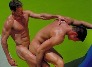 gay muscle porn video Descent - (distribution scene) | hotmusclefucker.com