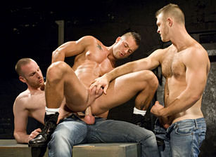 gay muscle porn clip: Reckless 1 - Paul Wagner & Rod Daily & Tim Kruger, on hotmusclefucker.com