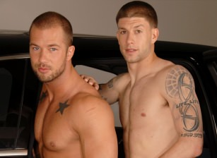 gay muscle porn clip: The Last Stop - Brec Boyd & Rod Daily, on hotmusclefucker.com