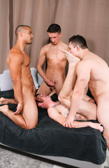 Liam Daniels, Arlington Jones, Alexander Maximus & Ryan Jordan Picture