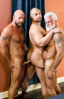 Muscle Daddy Bears Picture