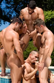Paul Wagner , Landon Conrad , Marcus Mojo , Cody Cummings , Rod Daily , Johnny Torque & Anthony Rome Picture