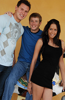 TommyD, Zack Cock & Kelly Summer Picture