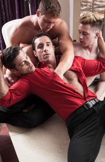 Lance Hart, Nick Capra, Conner Mcguire & Kyler Ash Picture